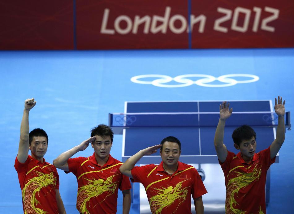 伦敦奥运:中国第35金(乒乓球男团) - 星夜焰火 - .