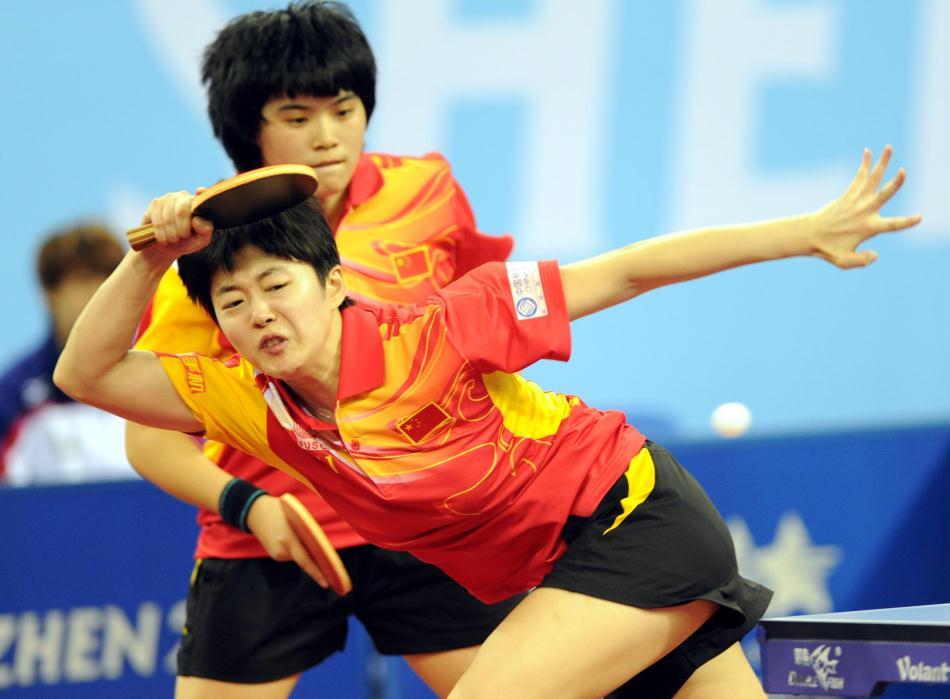 中国乒乓球女团